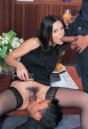 Hairy Women Blowjob