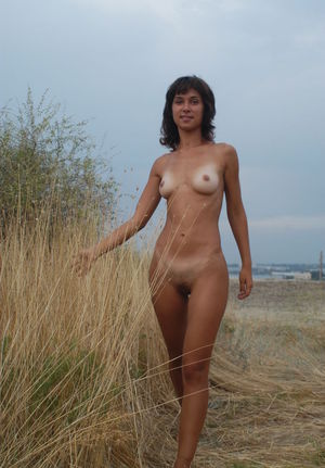 Hairy Women Outdoor