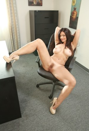 Hairy Office Women